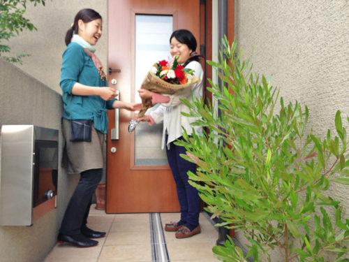 花の部屋 配達