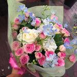 誕生日 ミミエデン ミニバラ ブーケ 花束