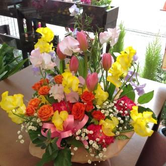季節のアレンジメント 春