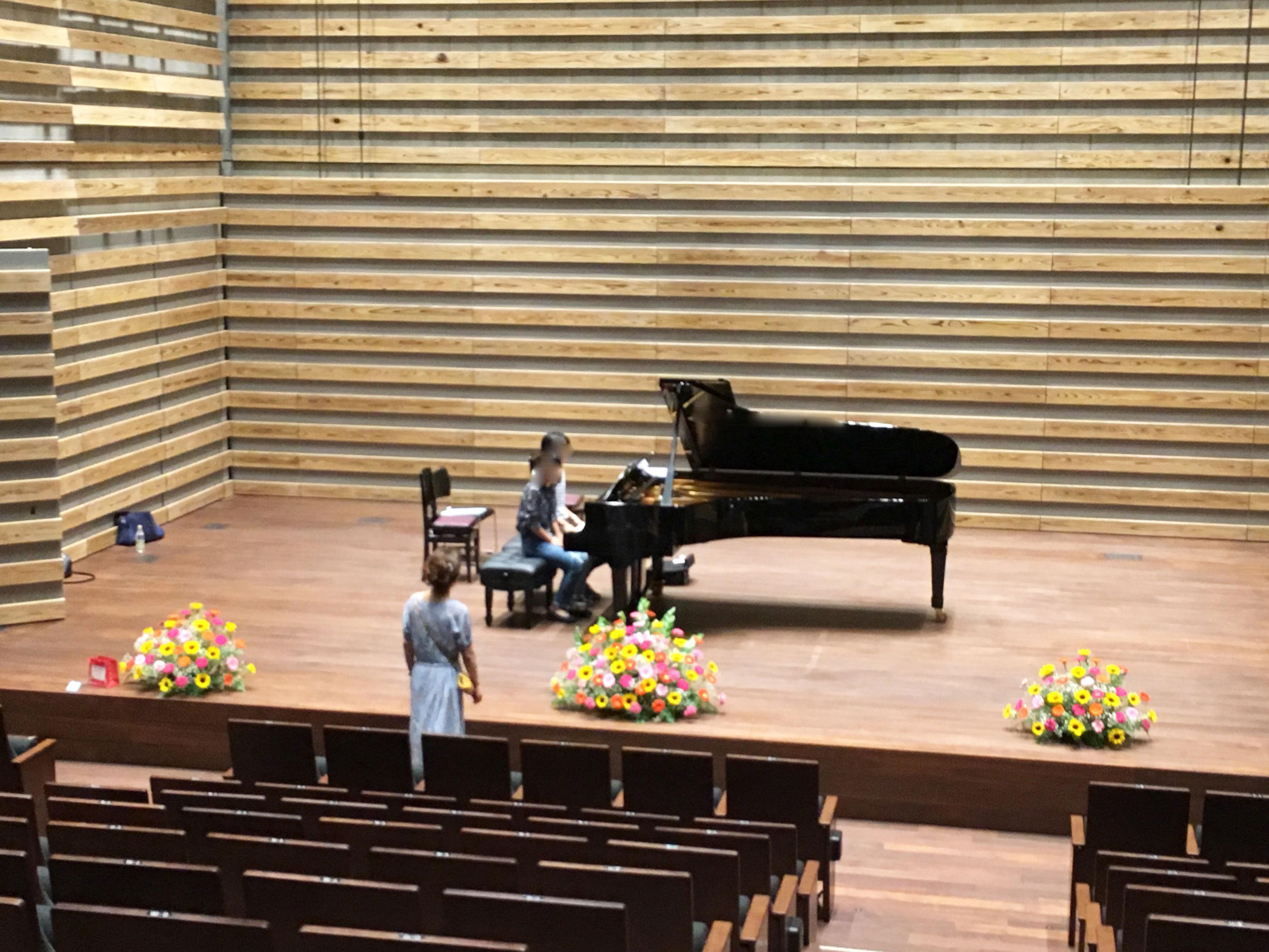 豊中市立文化芸術センター ピアノ発表会