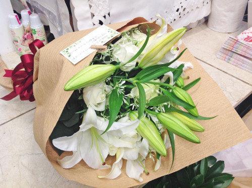 バラ カサブランカ 花束