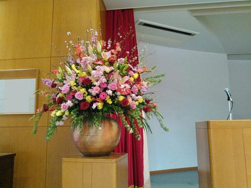 式典 壺花