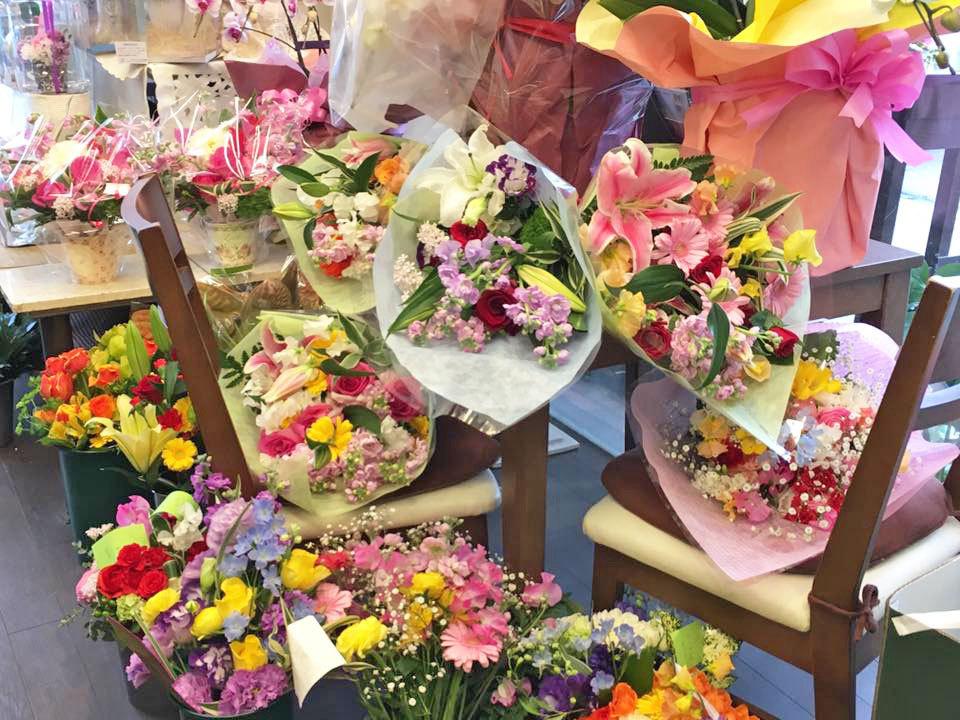 花束 アレンジメント