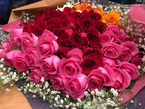 プロポーズ 花束