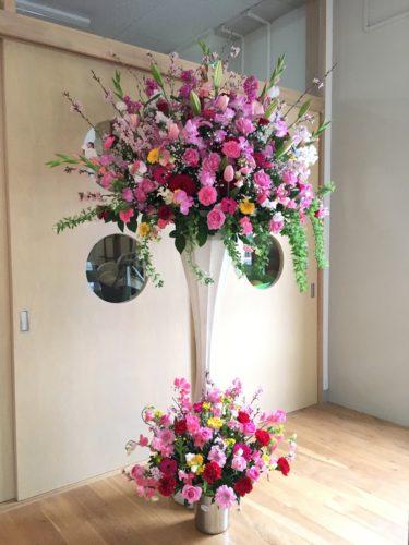 卒園式 スタンド花