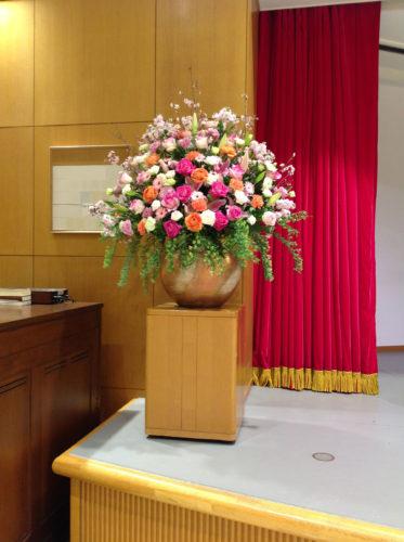 卒業式 壺花