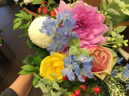 花束 ペットのお供え