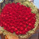 プロポーズ バラ花束