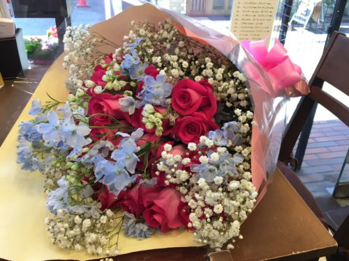 結婚祝い 花束