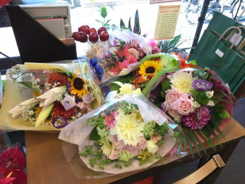 歓送迎 花束