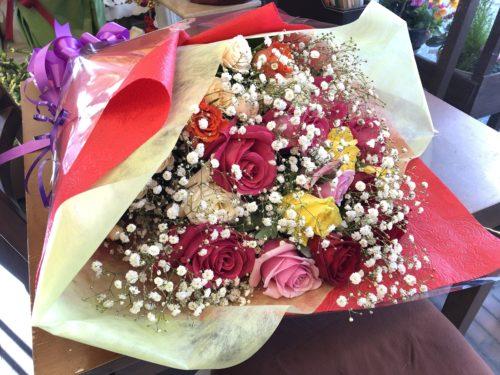 成人式 花束